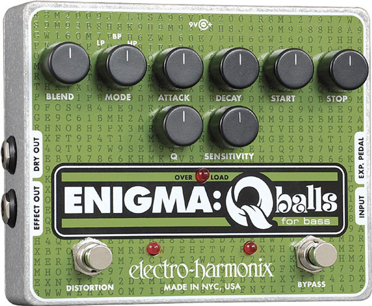 Electro-Harmonix Enigma: Q-Balls Bass Envelope Filter Review