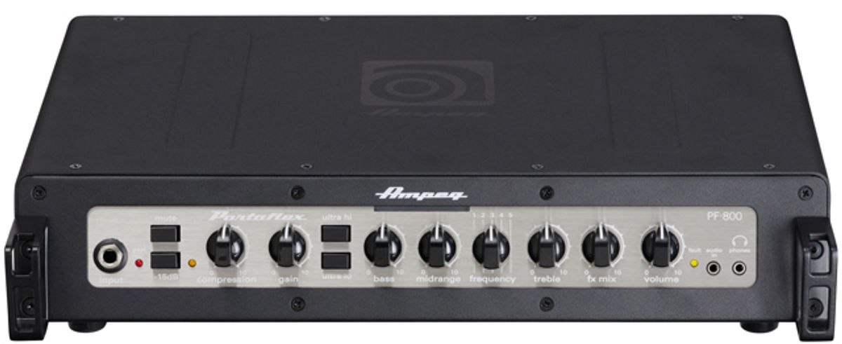 Ampeg Introduces the PF-800 Portaflex Series Bass Head