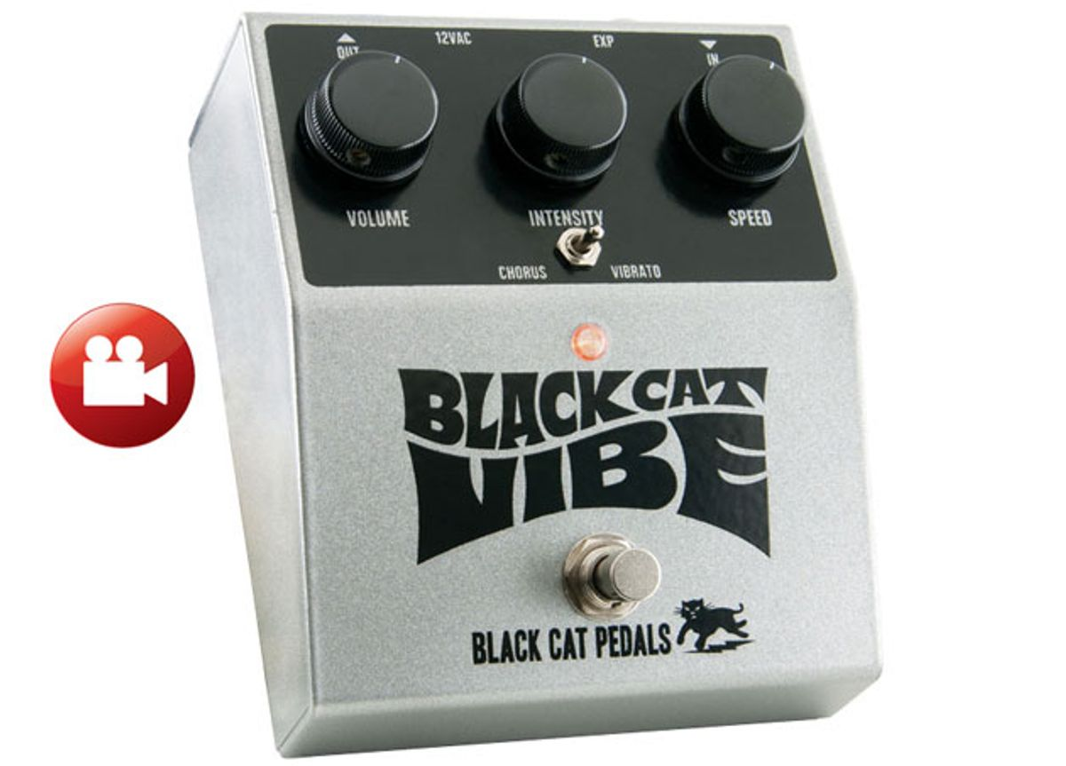 Black Cat Pedals Vibe Review