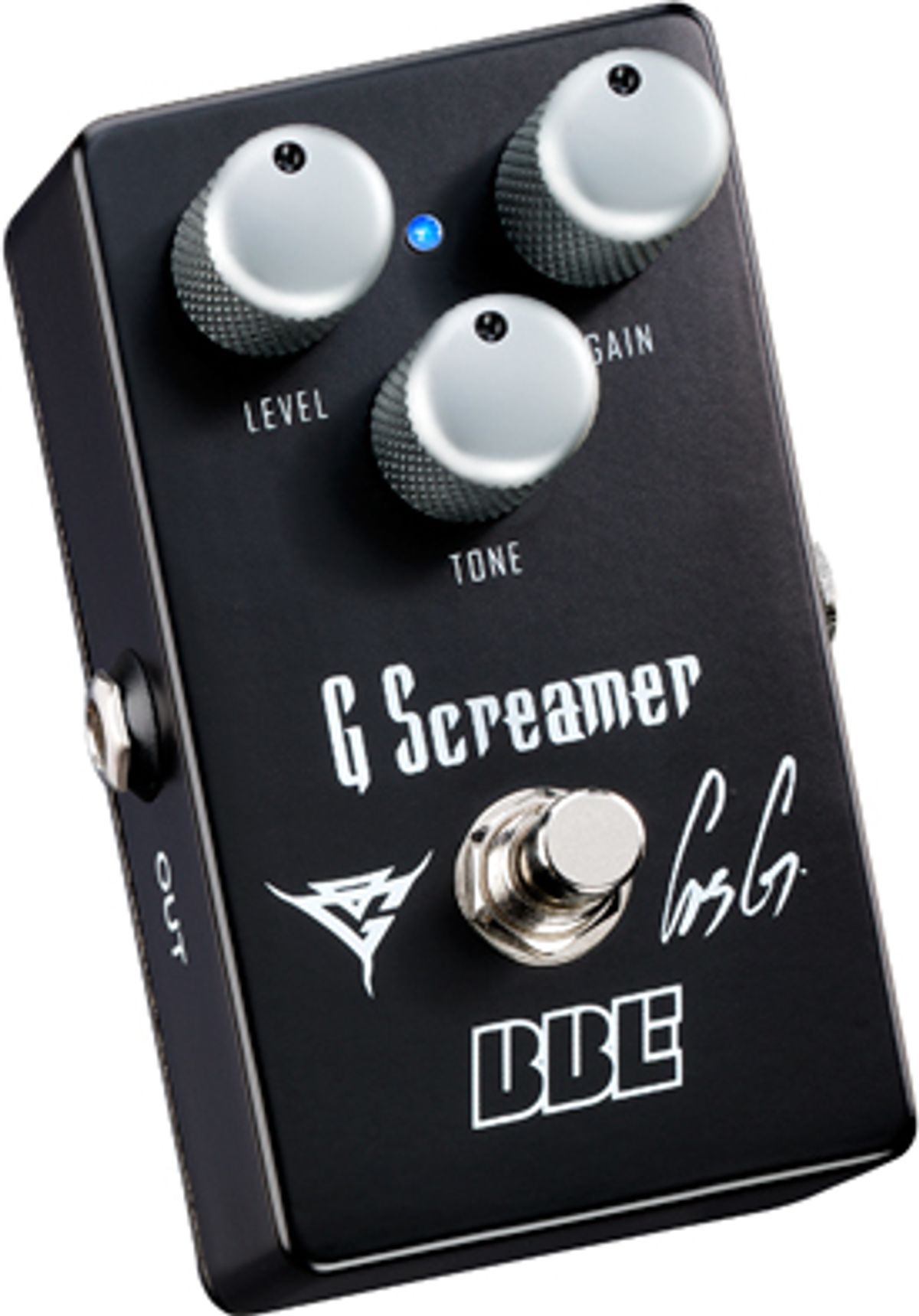 BBE Releases Gus G OG-1 Signature Overdrive