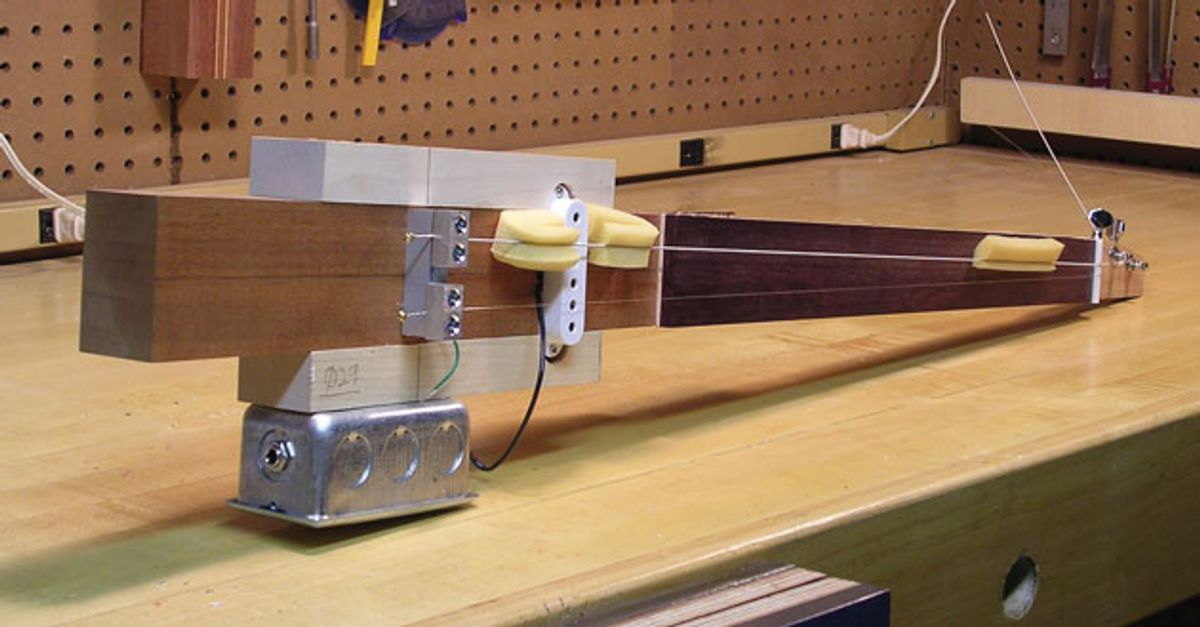 Bass Bench: Can You Hear the Difference Between Various Neck Joints?