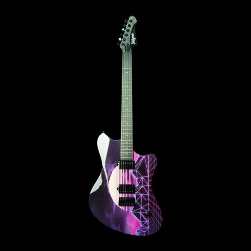 Balaguer Guitars Unleashes the Espada Synthwave