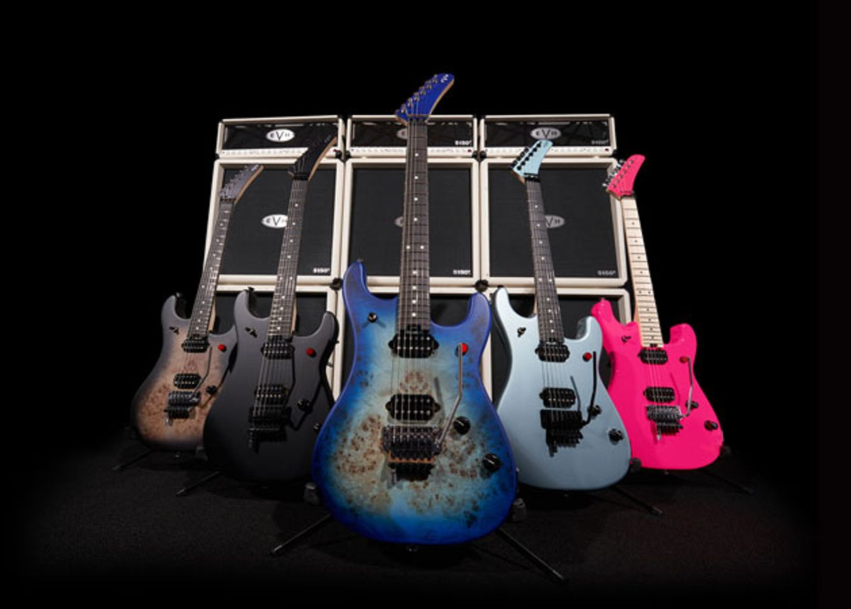 EVH Releases 5150 Series and New Wolfgang Models