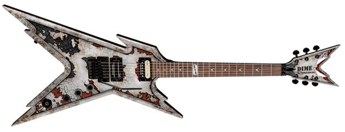 Dean Guitars Reissues the Dime Razorback