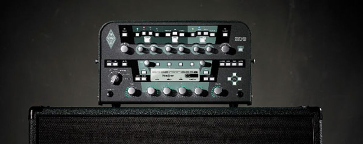 Kemper Announces Profiler 8.0 Firmware With Updated Drives