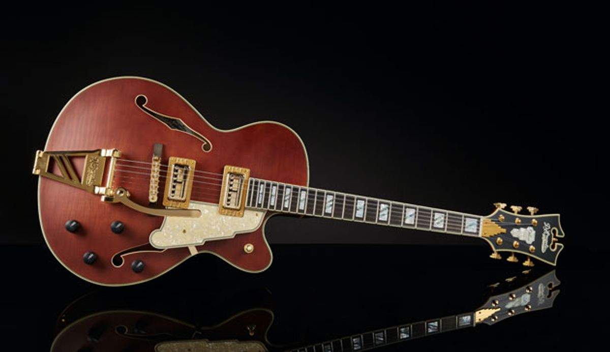 D'Angelico Guitars Introduces the Deluxe 175 LE