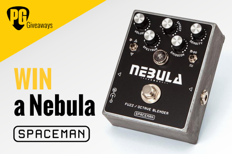 PG Giveaways: Spaceman Effects Nebula