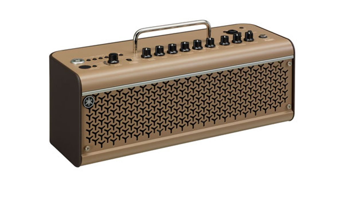 Yamaha Unveils the THR30IIA Acoustic Amp