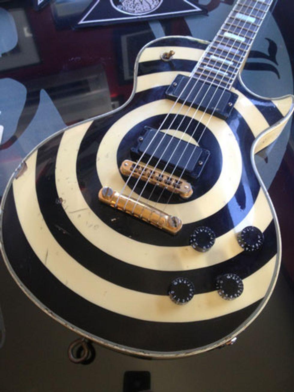 zakk wylde 39 s 5 favorite les pauls 2013 12 04 premier guitar. Black Bedroom Furniture Sets. Home Design Ideas
