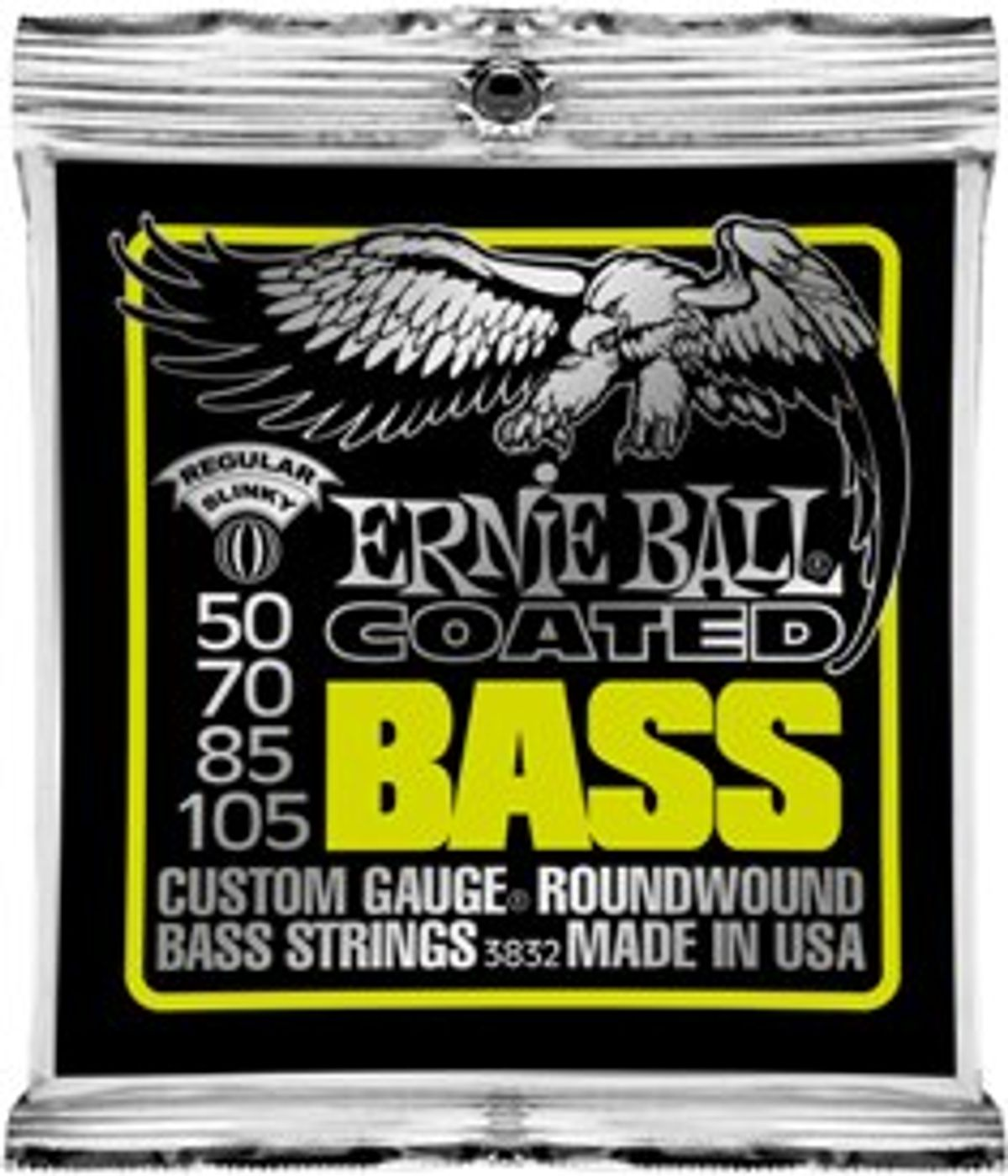 Ernie Ball Releases New Coated Bass Strings