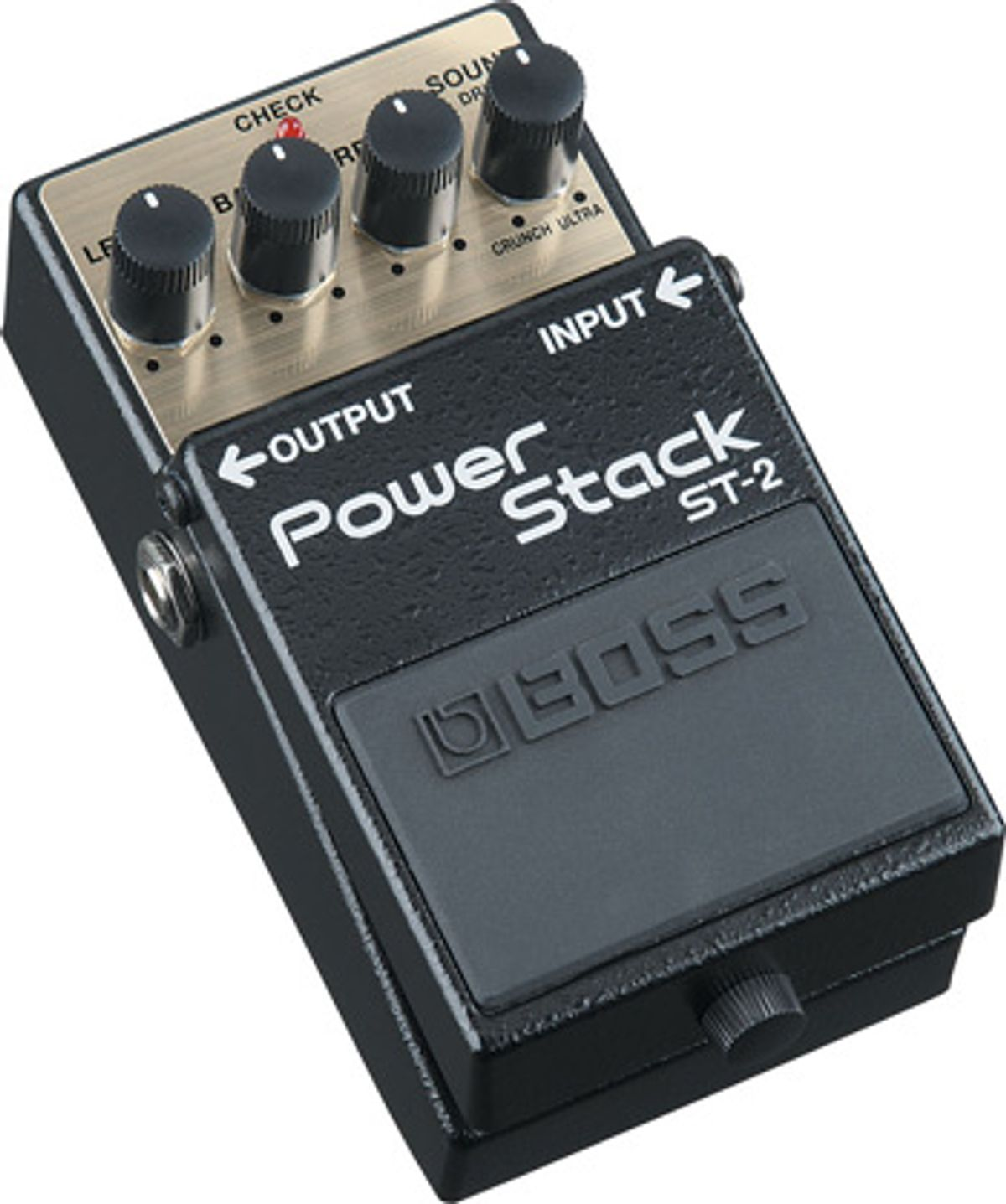 Boss Introduces ST-2 Power Stack Pedal