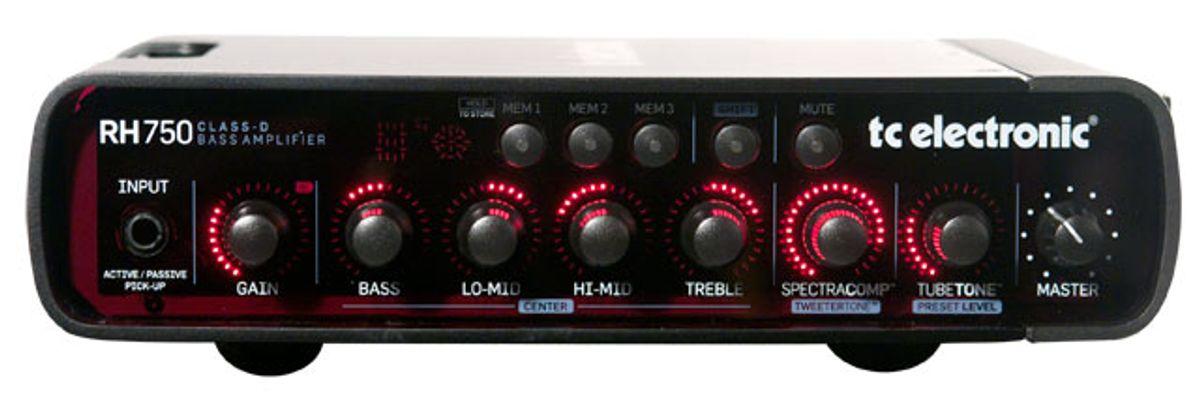 TC Electronic RH750 Bass Amp Review