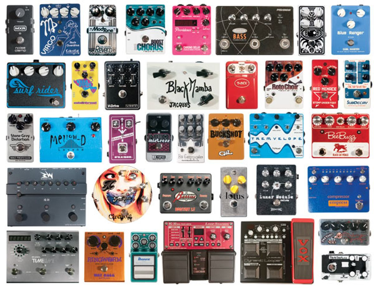 2011 Pedal Roundup: 37 Stompboxes Reviewed