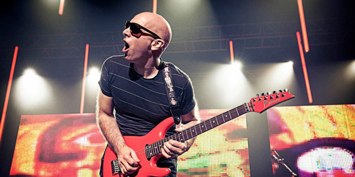 Joe Satriani Announces the 2016 G4 Experience