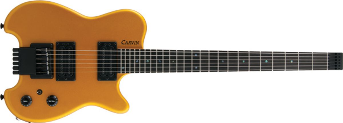Carvin HH2 Allan Holdsworth Electric Guitar Review