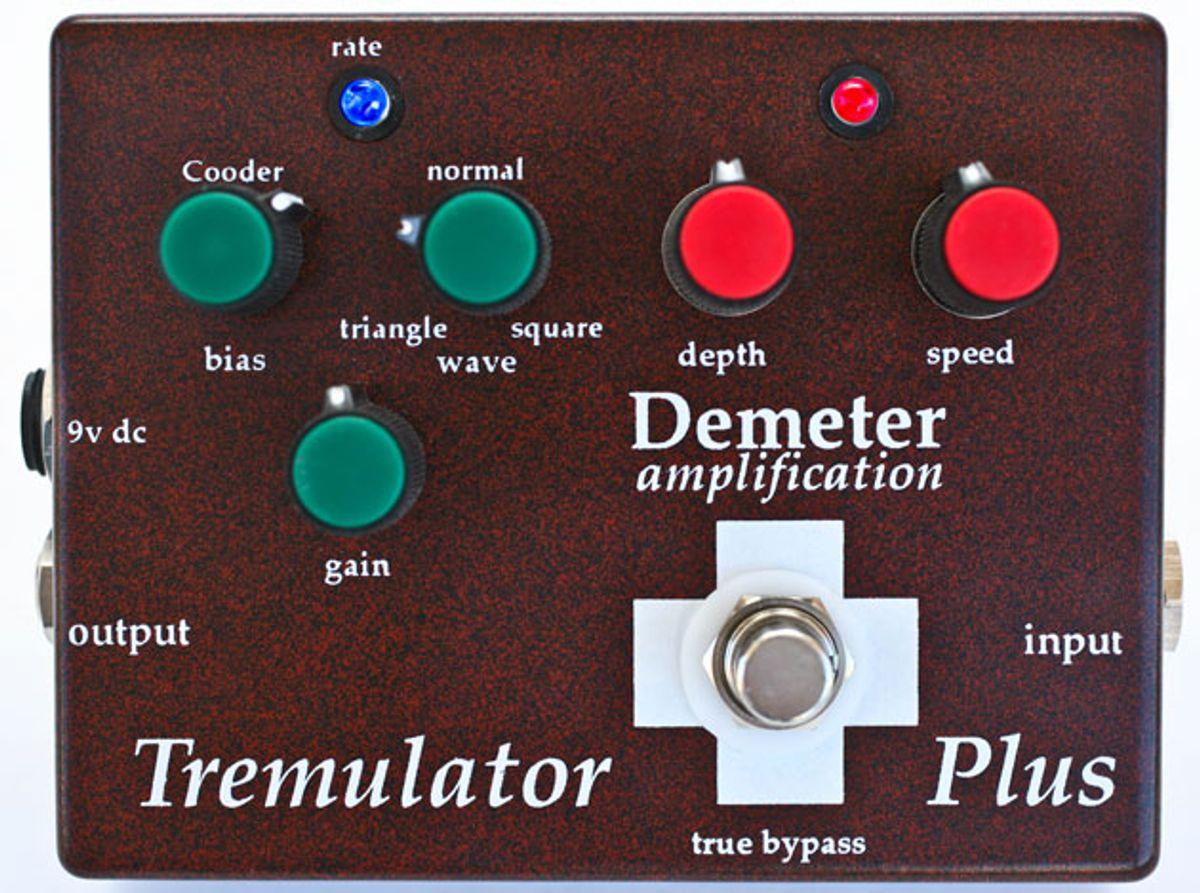 Demeter Amps Unveils the Tremulator Plus