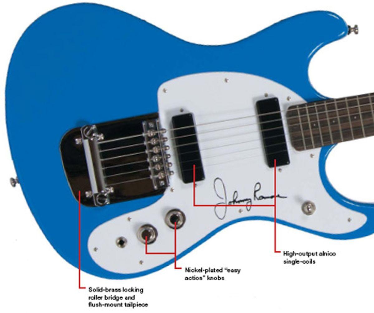 Hallmark Guitars Johnny Ramone Guitar Review