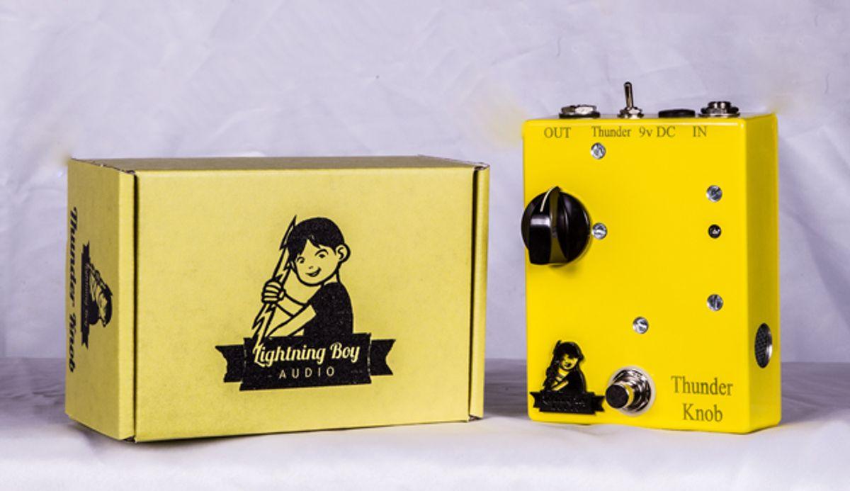 Lightning Boy Audio Releases the Thunder Knob
