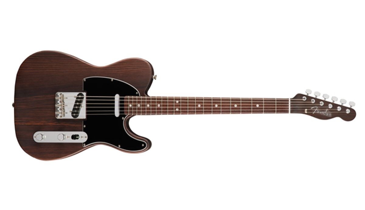 Fender Releases Limited-Edition George Harrison Rosewood Telecaster