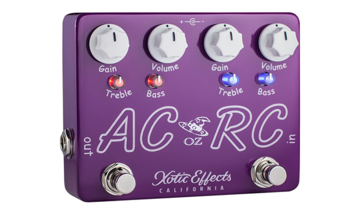 Xotic Effects Announces the AC/RC-OZ