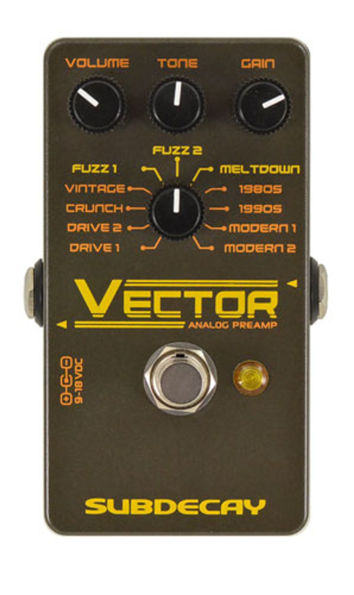 Subdecay Launches the Vector Preamp