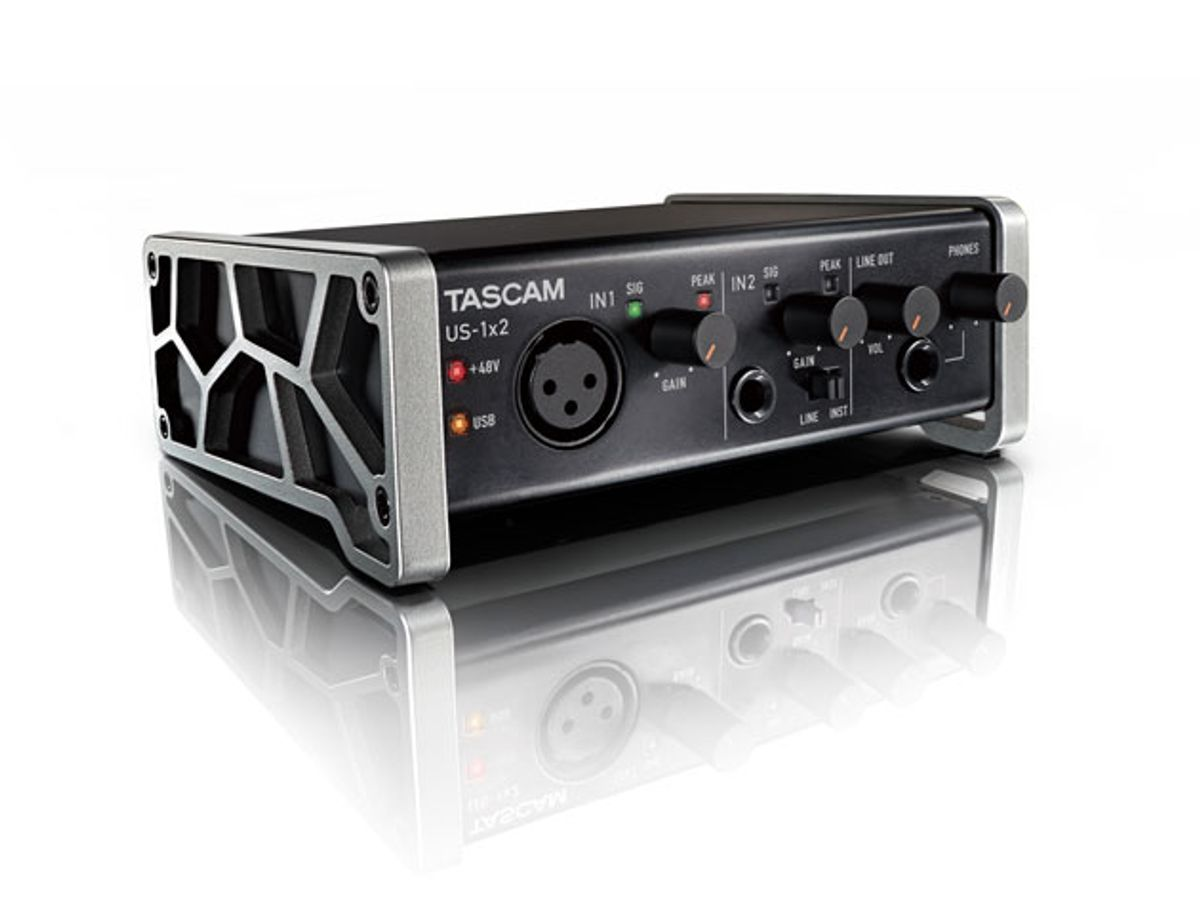Tascam Introduces the US-1x2 Interface