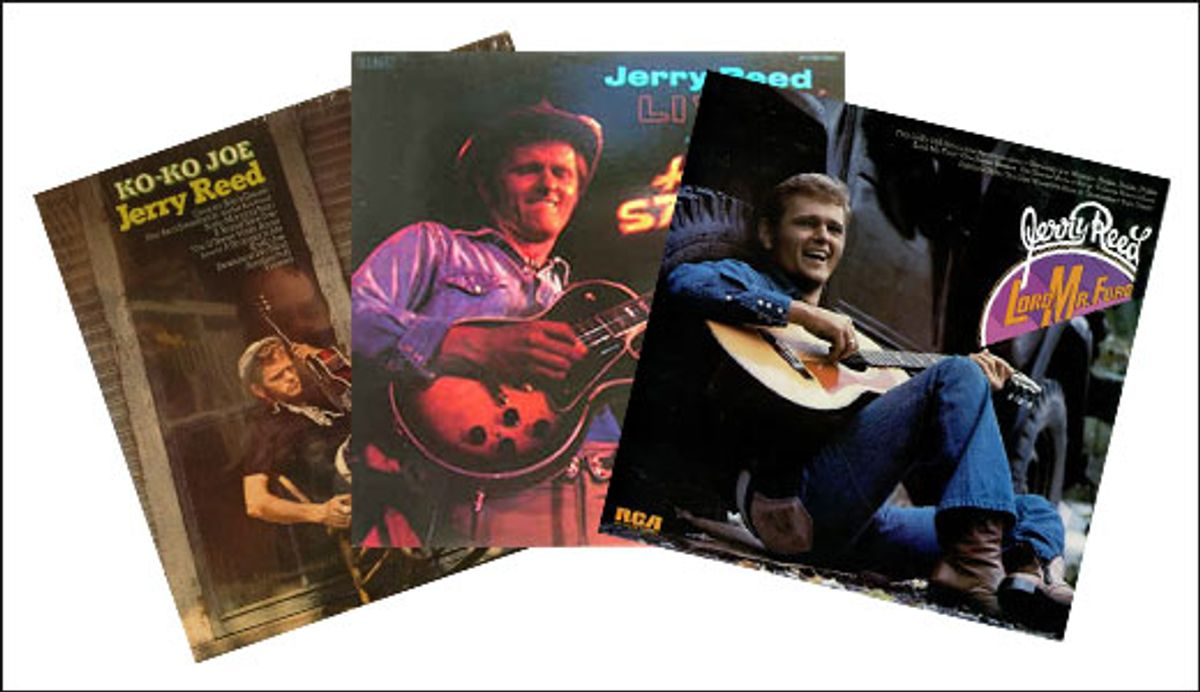 Jerry Reed's Red-Hot Picking