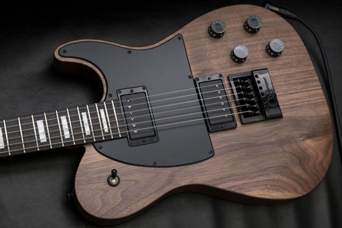 Jericho Guitars Unveils the Fusion Walnut EverTune