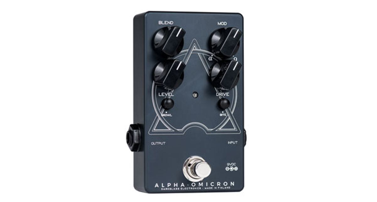 Darkglass Electronics Releases the Alpha·Omicron