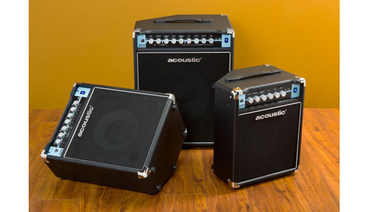 Acoustic Unveils Classic Series Bass Combos