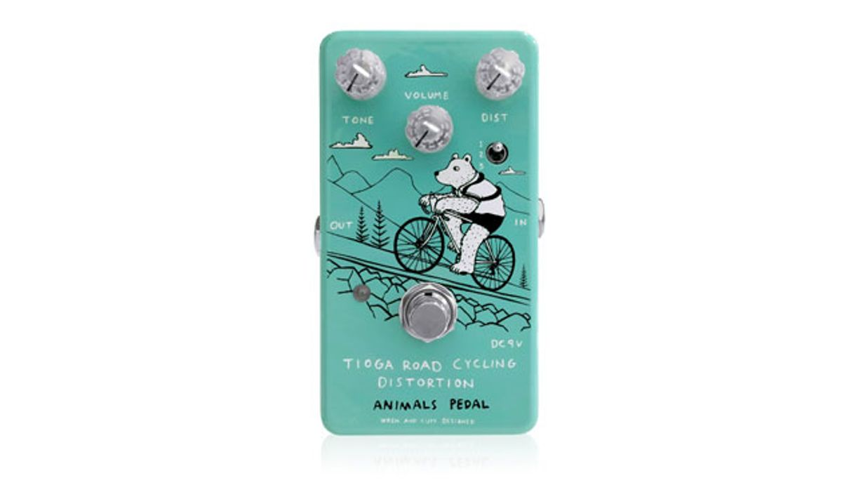 Animals Pedal Launches the Tioga Road Cycling Distortion
