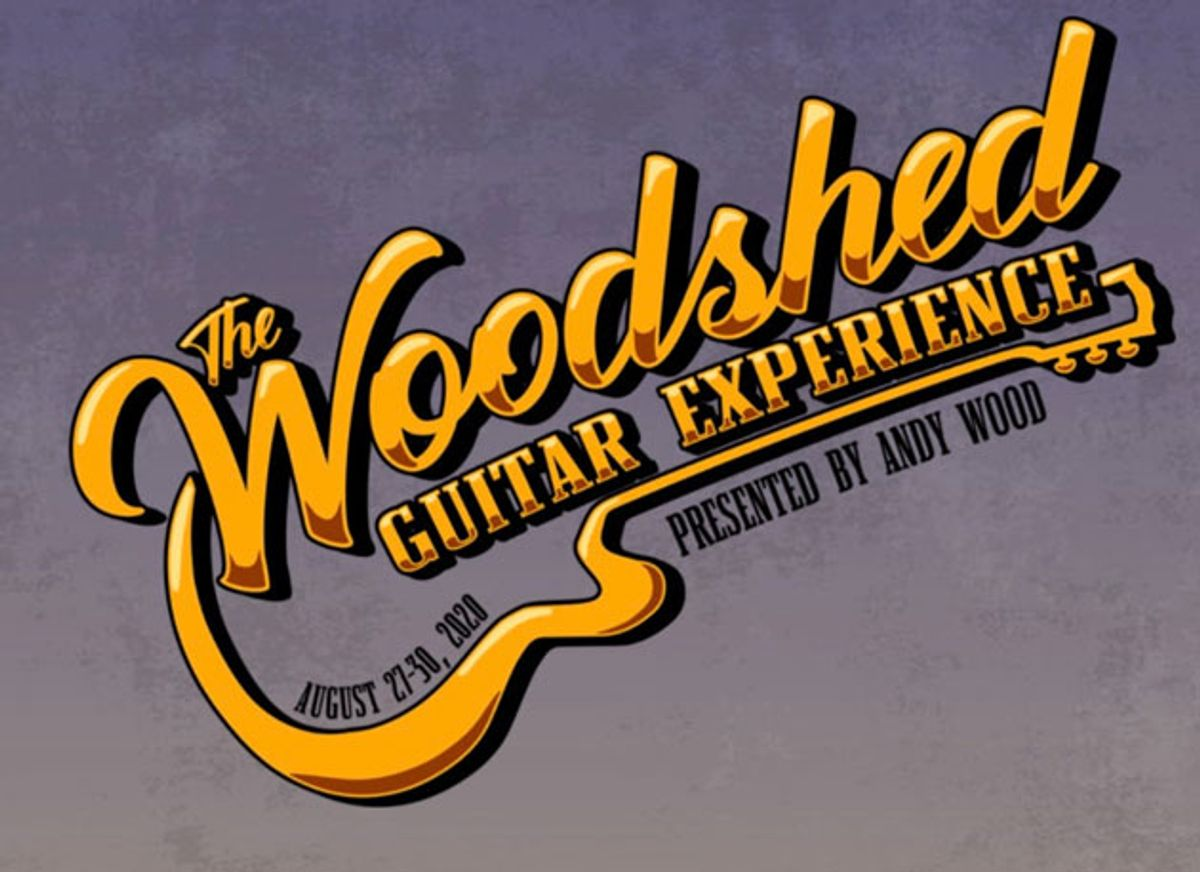 Andy Wood Announces the Woodshed Guitar Experience