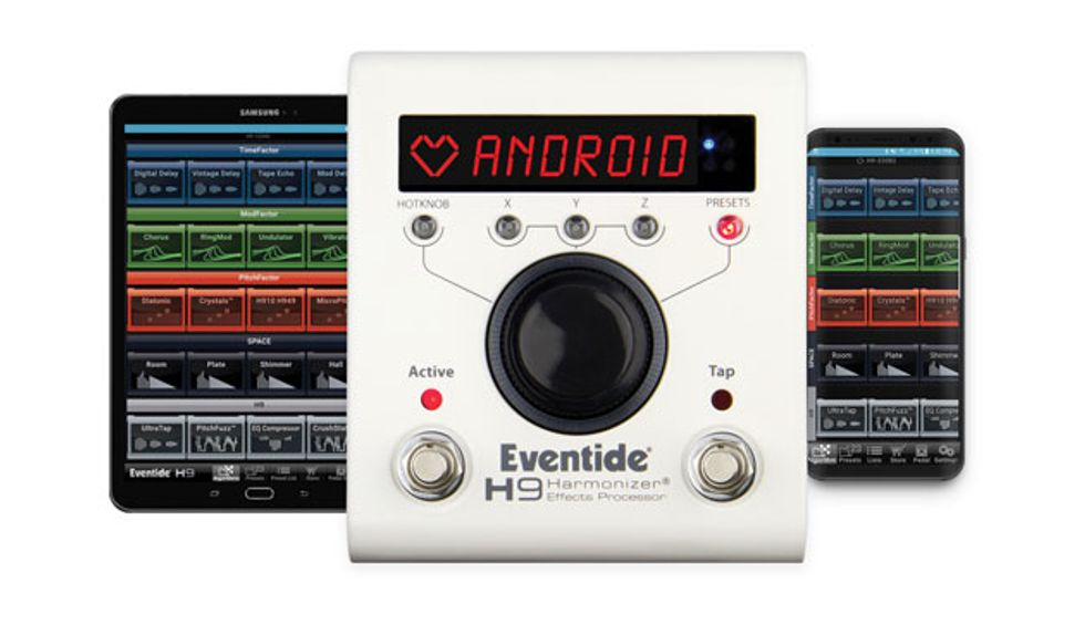 Eventide Announces H9 Control Android App