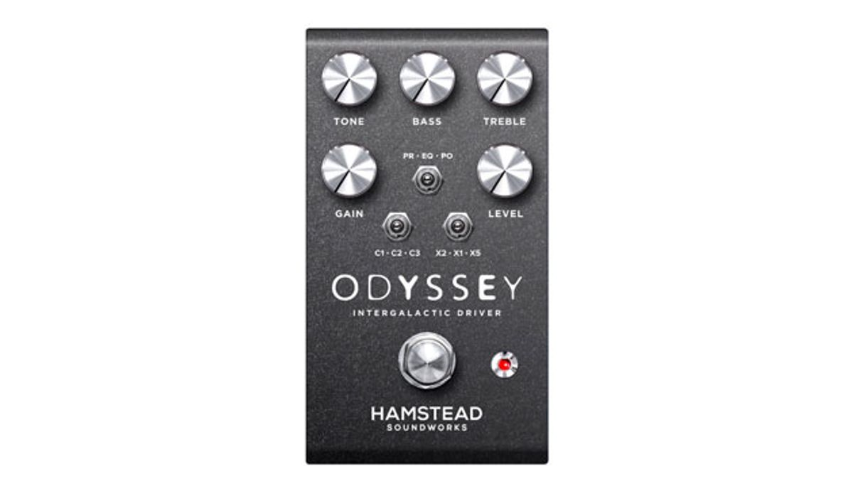 Hamstead Soundworks Unveils the Odyssey Drive Pedal