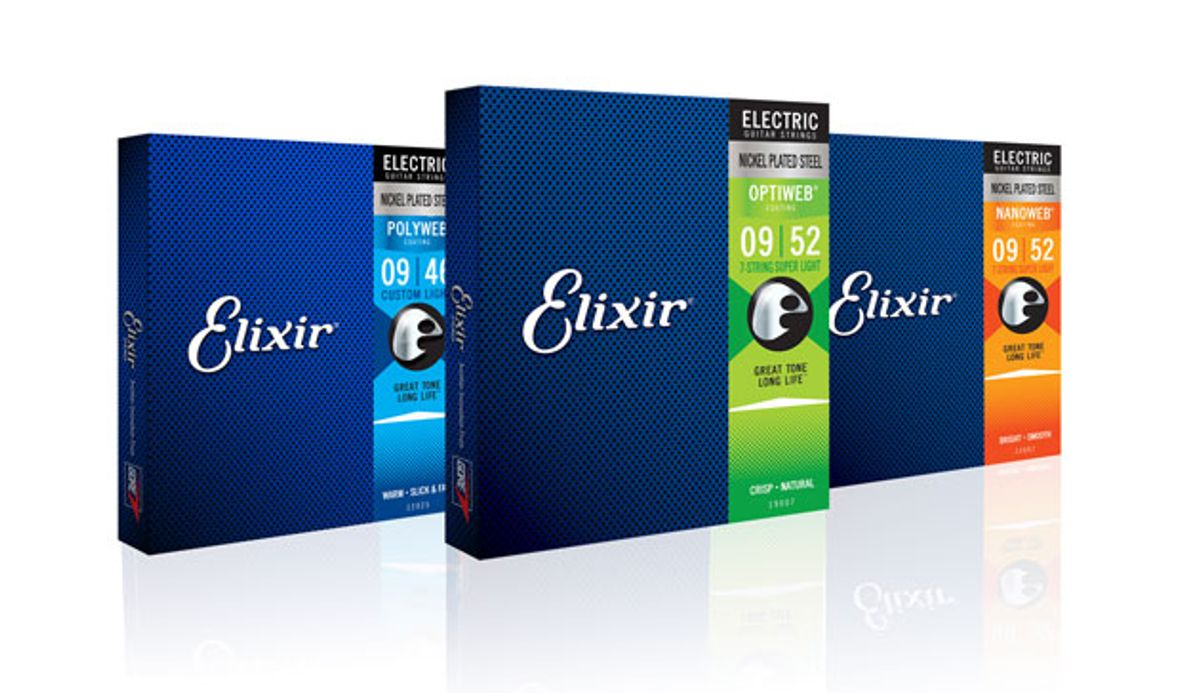 Elixir Strings Expands its Electric Line