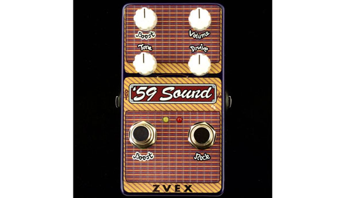 ZVEX Effects Releases the Vertical Vexter '59 Sound