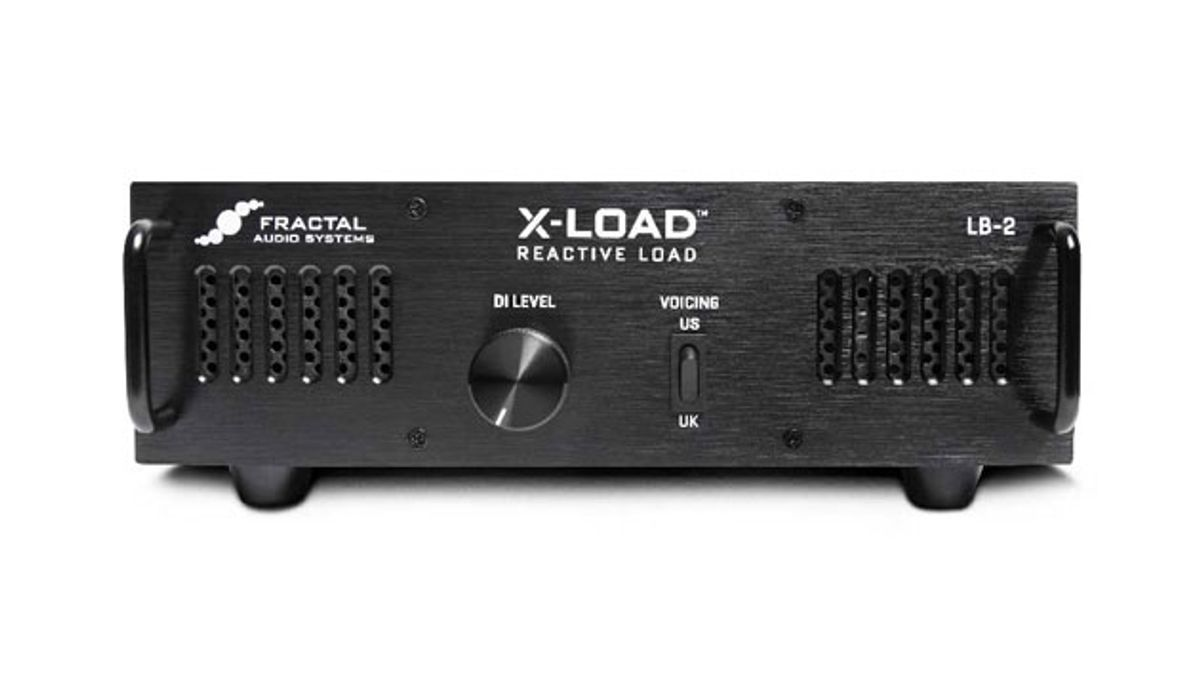 Fractal Audio Systems Presents the X-Load LB-2 Reactive Load Box