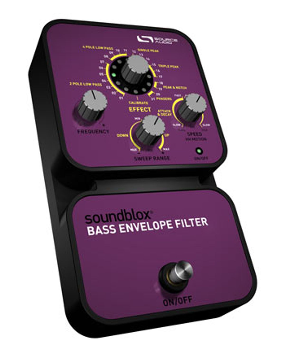Source Audio Unveils Soundblox Bass Envelope Filter