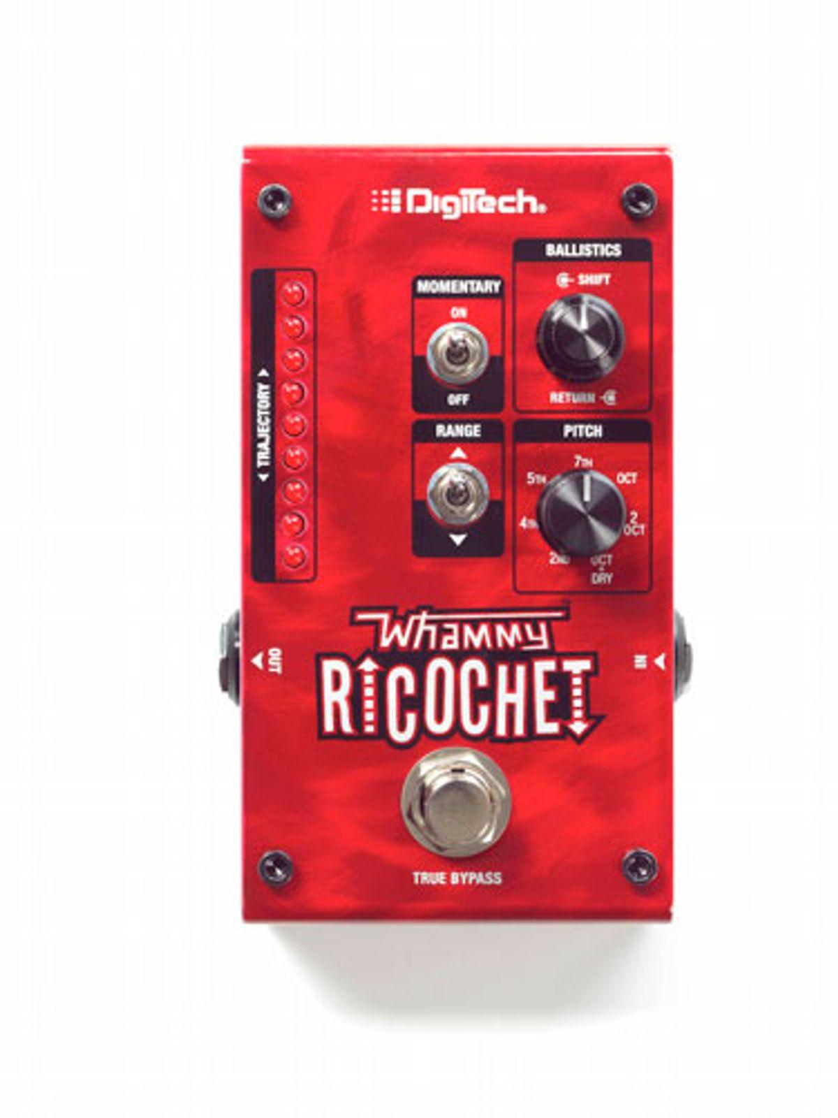 DigiTech Unveils the Whammy Ricochet