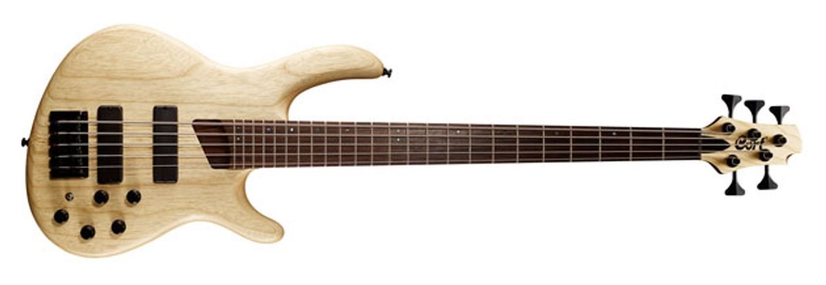 Cort Guitars Introduces the B5 Plus AS Bass