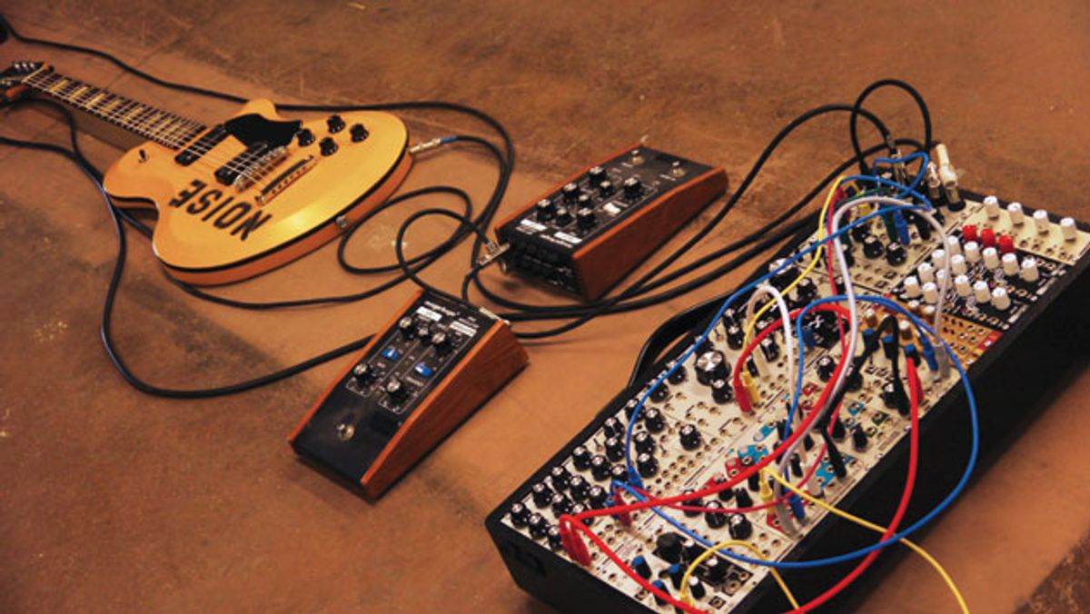 State of the Stomp: Living in Synth