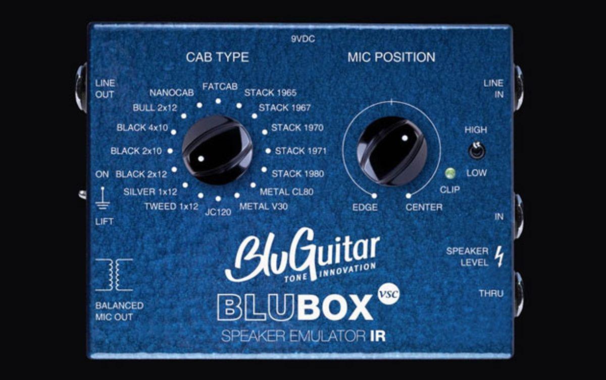 BluGuitar Announces the BluBOX
