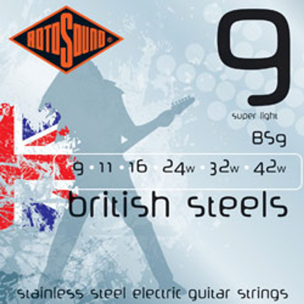 Rotosound Launches British Steel Strings