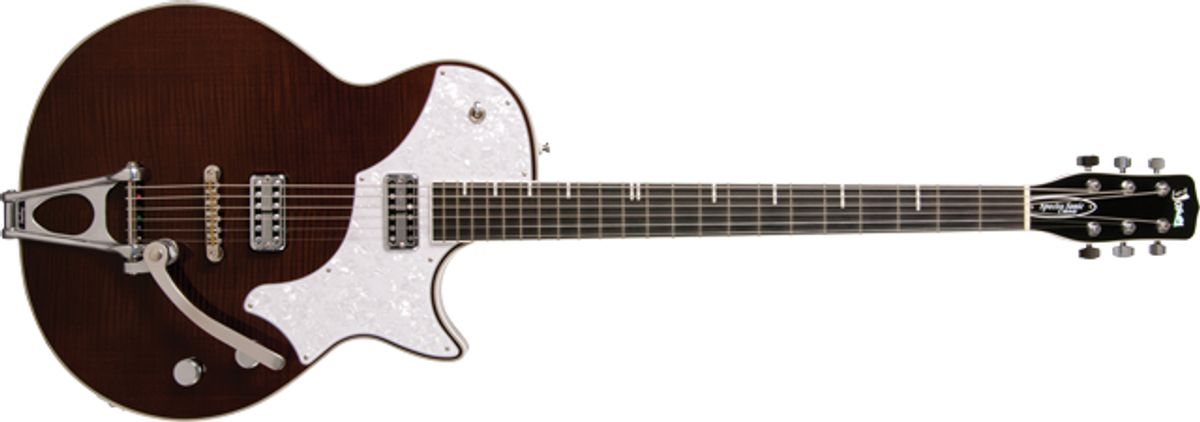 TV Jones Spectra Sonic C Melody Electric Guitar Review