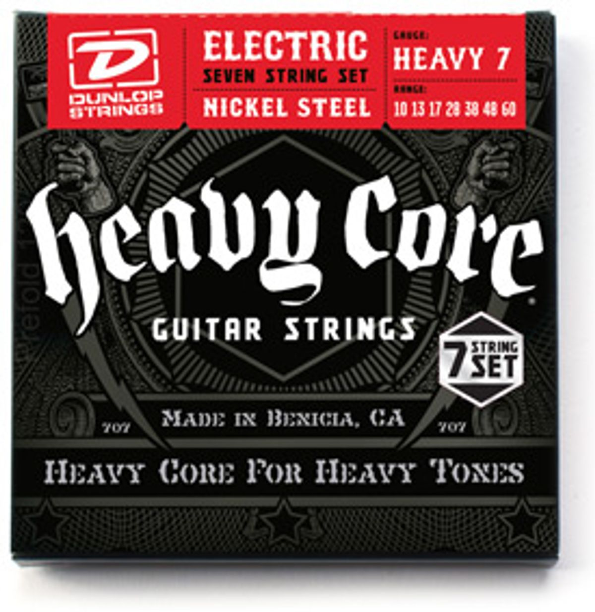 Dunlop Announces Heavy Core Seven String Set