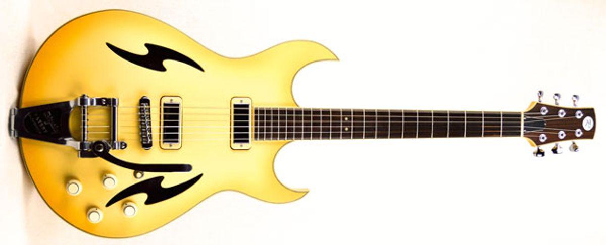 Tim Reede Custom Guitars Introduces the Apollo