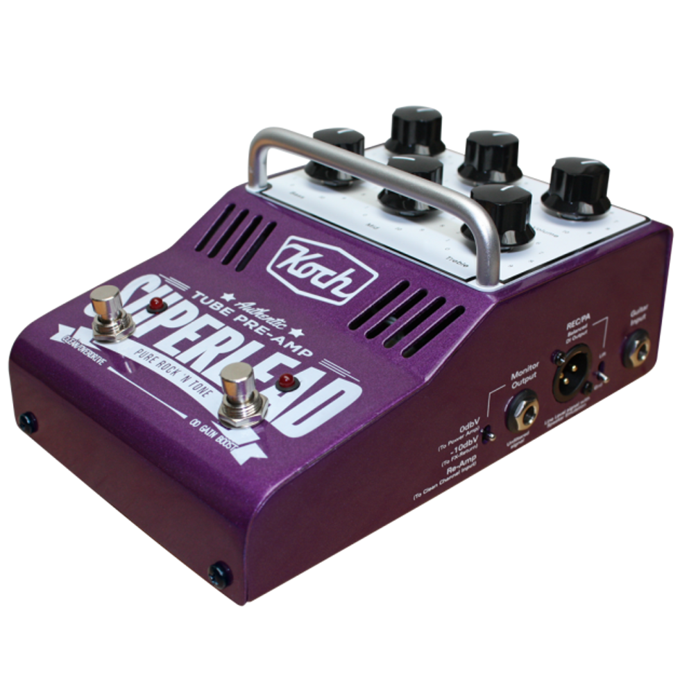 Koch amps unveils the superlead and the 63 39 od 2014 09 26 for Koch 63 od manual