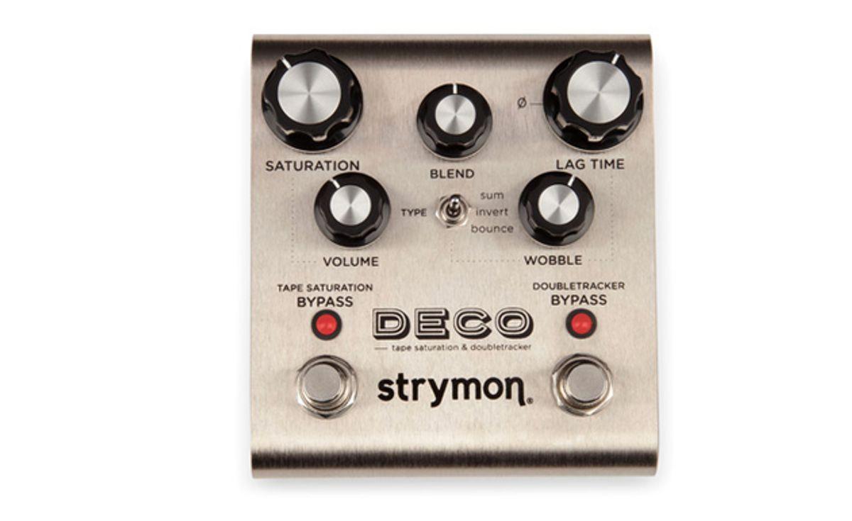 Strymon Introduces the Deco