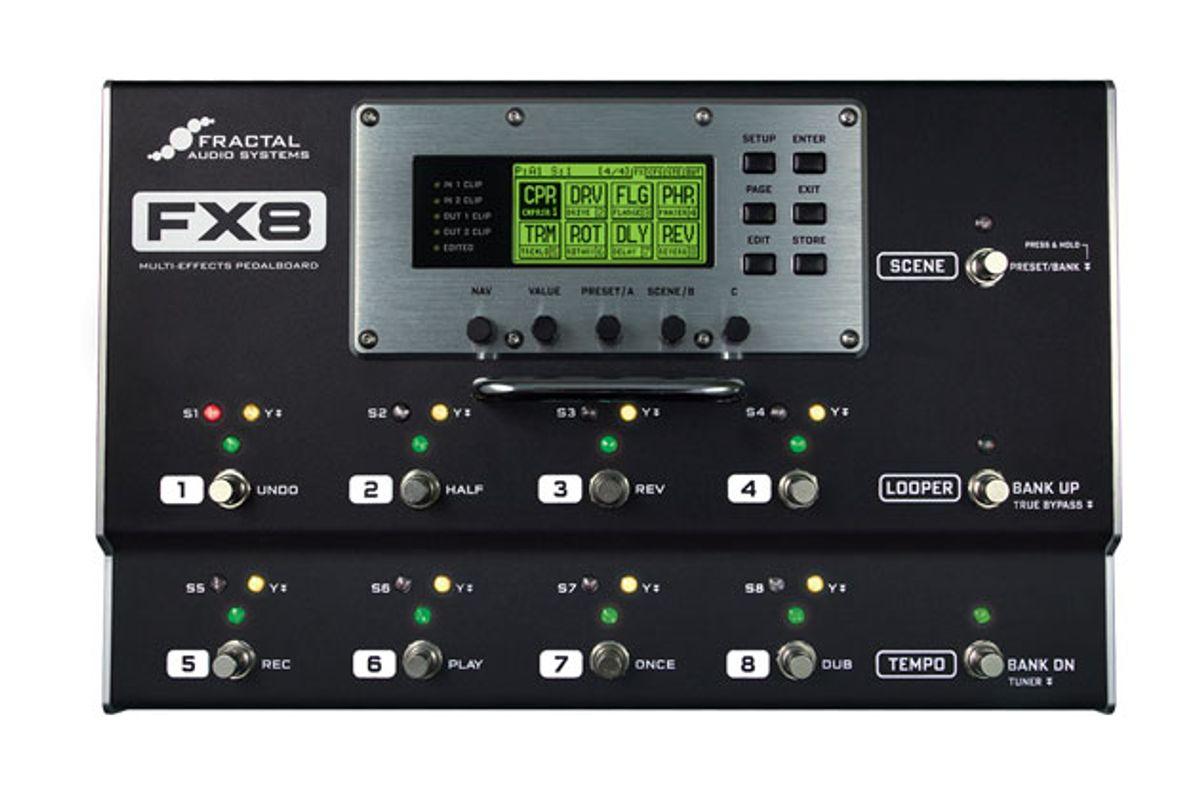 Fractal Audio Systems Announces the FX8