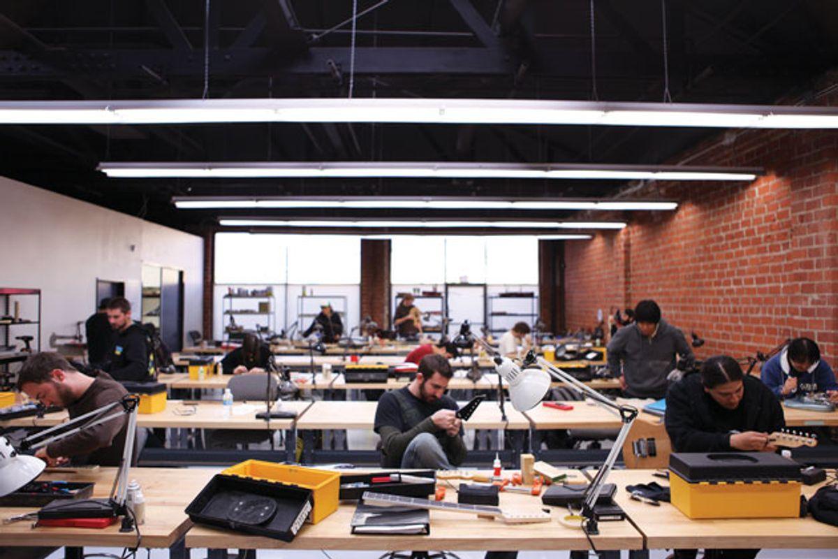 Inside the Musicians Institute Guitar Craft Program